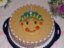 Joghurt-Himbeer-Torte oder Fifi-Geburtstagstorte für Timeja Kijara - Rezept