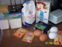 Quarkkuchen ohne Boden - Rezept