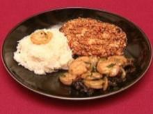 Mala doufu und Tiger Prawns mit Wasserkastanien (Kai Noll) - Rezept