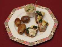 Königsetappe – Filet vom Schwein mit Blattspinat und Camembert (Marcel Wüst) - Rezept