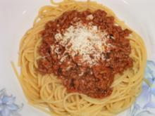Spaghetti Bolognese Didas Art - Rezept