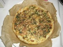 Blätterteig-Quiche mit Pfifferlingen - Rezept