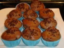 Nutella-Bananen Muffins - Rezept
