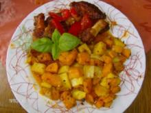 Chicken-Wings mit Kartoffel - Duett - Rezept