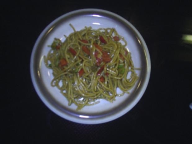 Salat - Spaghetti-Salat - Rezept