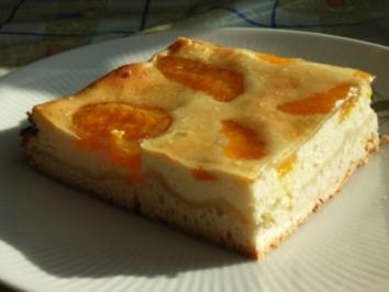 Käse-Mandarinen-Kuchen - Rezept