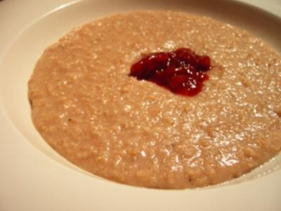 Dessert: Porridge my way - Rezept