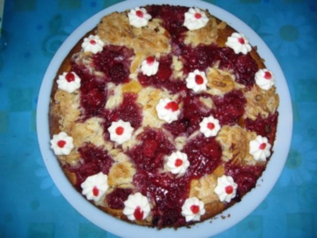 Kuchen: Rote-Grütze-Kuchen vom Blech - Rezept - Bild Nr. 2