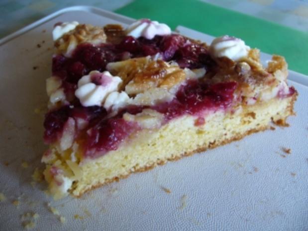 Kuchen: Rote-Grütze-Kuchen vom Blech - Rezept - Bild Nr. 3