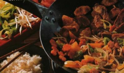 Kokos-Reis zu Entenbrust & Gemüse - Rezept