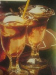 Flambierter Eiscafé - Rezept