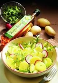 Rezept: Kartoffelsalat mit Radieschen