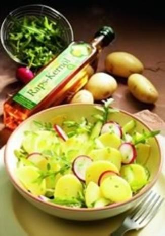 Kartoffelsalat mit Radieschen - Rezept