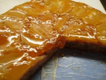 Apfelkuchen verkehrt - Rezept