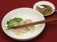 Man-Du - Gefüllte Teigtaschen mit Soja-Sesam-Dip (Mike Leon Grosch) - Rezept