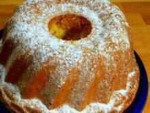 Kuchen: Topfen-Apfel-Pistazien-Gugelhupf - Rezept