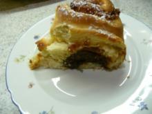 Hefeschneckenkuchen - Rezept