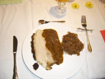 Schinkenkrustenbraten - Rezept