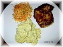 Grüner  Kartoffelsalat - Rezept