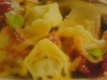 Tortellini-Auflauf mit Pilzen - Rezept