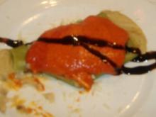 Canelloni mit Kabeljaufüllung ( Canellones rellenos de bacalao ) - Rezept