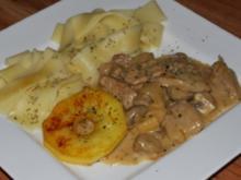 Normanisches Filet-Geschnetzeltes - Rezept