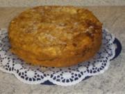 Apfelkuchen mit Guß - Rezept