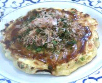 Okonomiyaki - Rezept