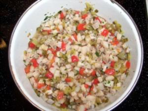 Heringssalat einfach - Rezept