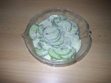 Salat - Gurkensalat - Rezept