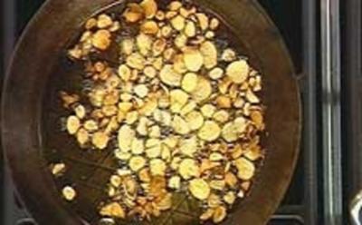 Frittierter Knoblauch - Rezept