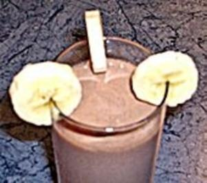 Bananen-Nutella-Milch - Rezept