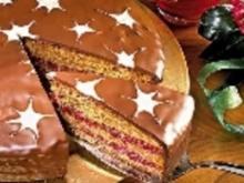 Mokka-Preiselbeer-Kuchen - Rezept
