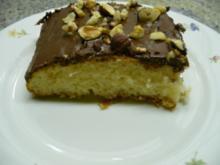 Schoko-Nuß-Kuchen vom Blech - Rezept