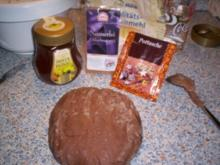 Verzierte Honigkuchen - Rezept