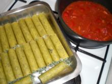 Ricotta-Spinat-Canneloni - Rezept