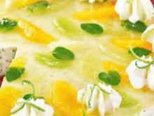 Quark Mohn Mousse mit Prosecco Gelee - Rezept