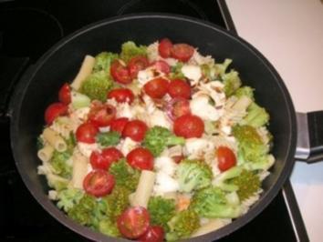 Broccoli- Nudelpfanne - Rezept