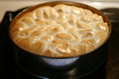 Apfel-Marshmallow-Kuchen - Rezept