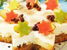 Bratapfel Weihnachtsstern - Rezept