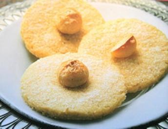 Plätzchen: Karamellisierte Macadamia-Taler - Rezept