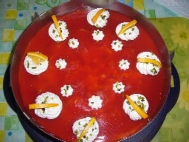 Torten: Blutorangen-Buttermilch-Torte - Rezept - Bild Nr. 2