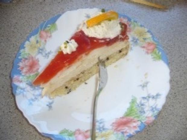 Torten: Blutorangen-Buttermilch-Torte - Rezept - Bild Nr. 3