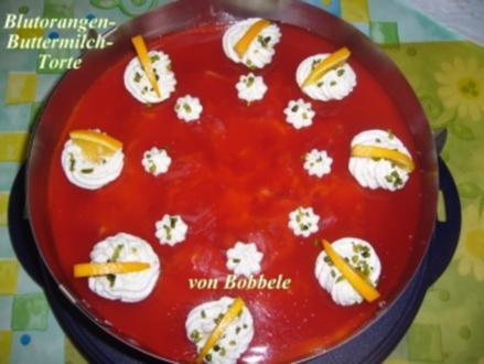 Torten: Blutorangen-Buttermilch-Torte - Rezept