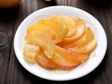 Karamelisierte Apfelspalten - Rezept - Bild Nr. 2