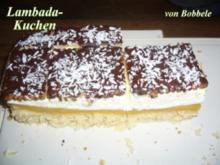 Kuchen: Lambada-Kuchen - Rezept
