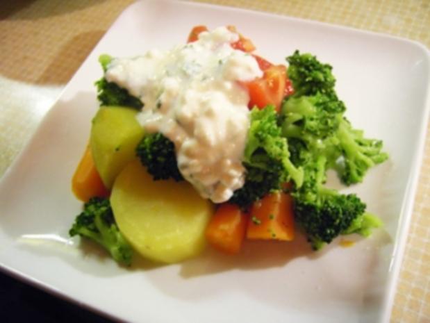 Leichtes gesundes Abendessen - Rezept