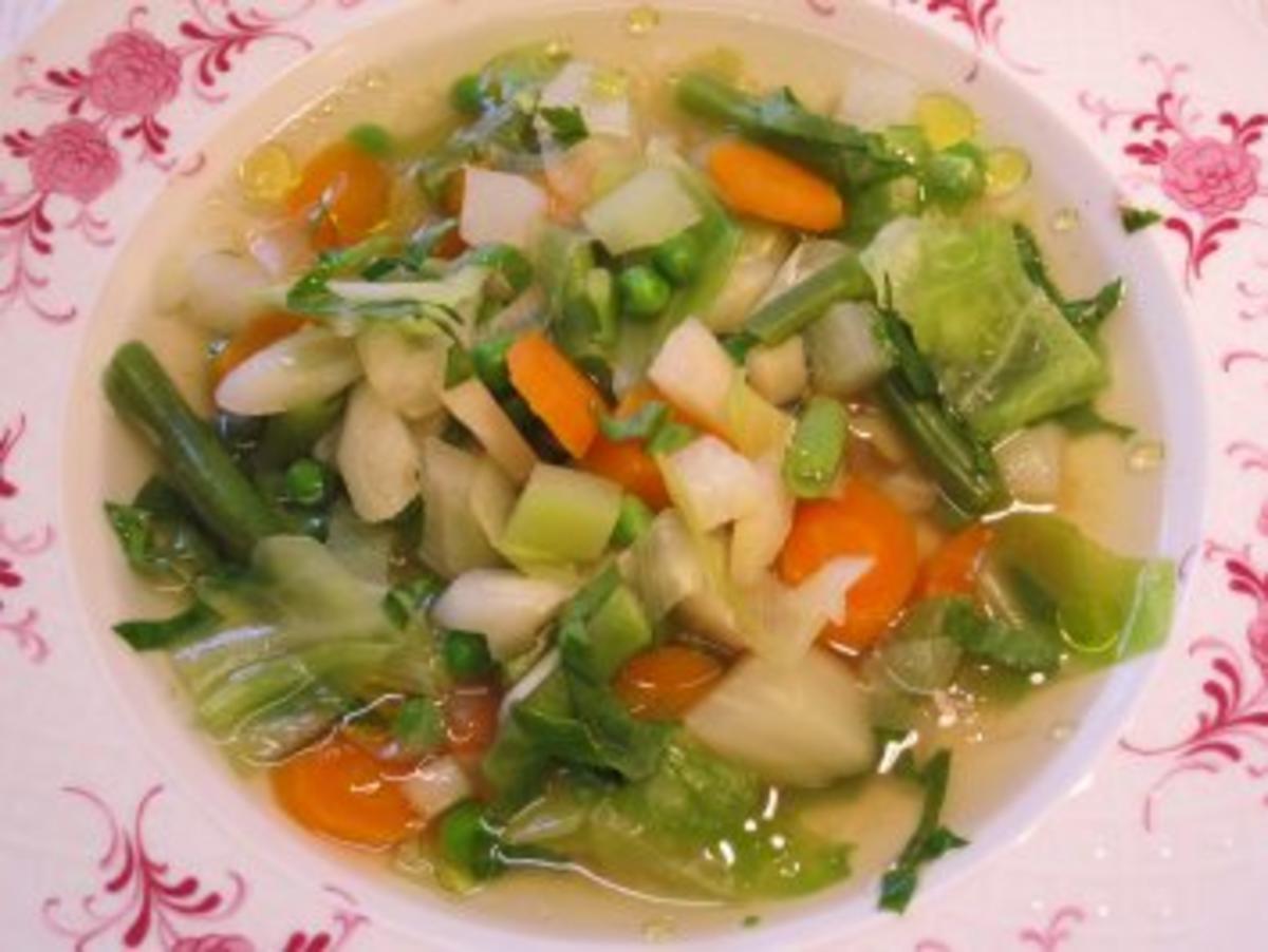 Frühlings Suppe