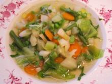 Frühlings-Suppe - Rezept