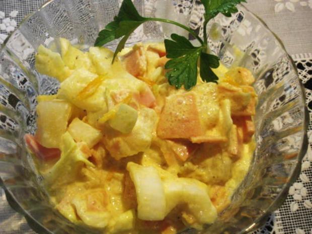 Wintersalat aus Chicoree ... - Rezept